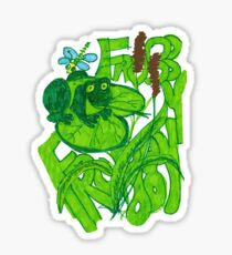 """""""Froggy goes a Courting"""" Sticker"""