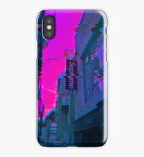 Vaporwave Supreme iPhone Case
