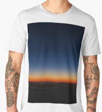 Sunrise from a plane Men's Premium T-Shirt