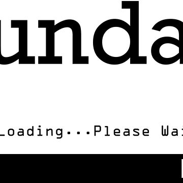Sunday Loading by no-doubt