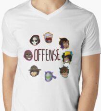 Overwatch Offense Men's V-Neck T-Shirt