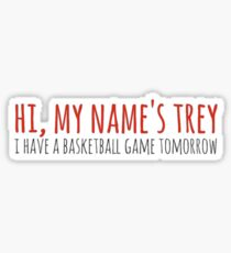Trey Sticker