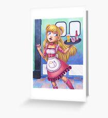 Apron Girl 3.0 Greeting Card