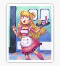 Apron Girl 3.0 Sticker