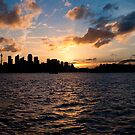 Sunset @ Taronga Zoo Wharf by Jason Hilsdon