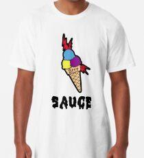 b6c13032108 Gucci Mane Ice Cream Cone Sauce Tattoo Long T-Shirt