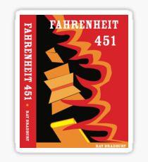 Fahrenheit 451 Sticker
