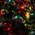 Christmas Baubles by Jason Hilsdon