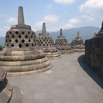 Borobudur Temple by bery-creative