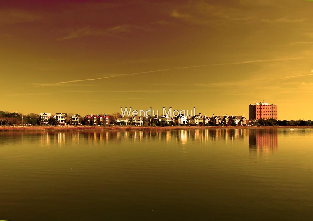 Golden Landscape by Wendy Mogul