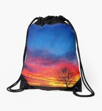 Sunrise in Arizona Drawstring Bag