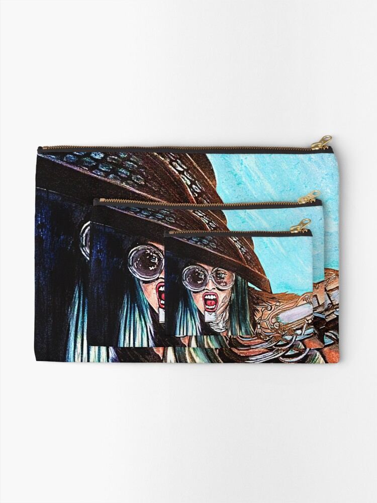 Alternate view of Yoü and I Zipper Pouch