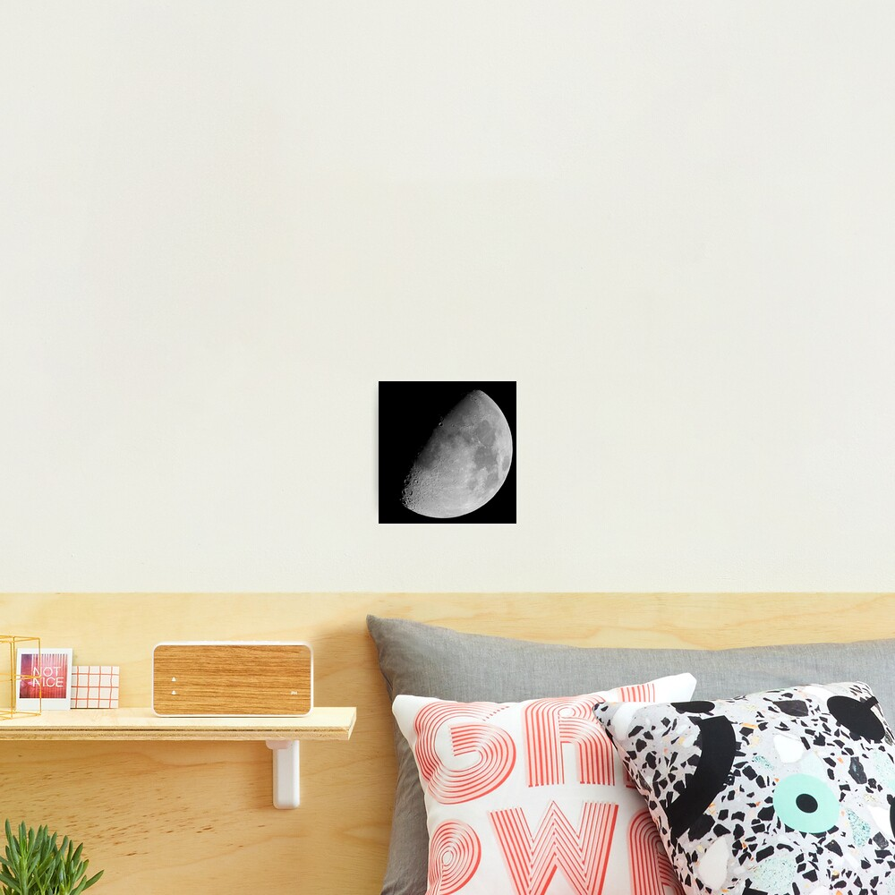 lunar image Photographic Print
