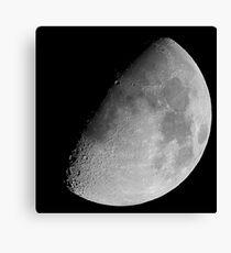 lunar image Canvas Print