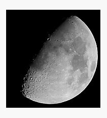 lunar image Photographic Print