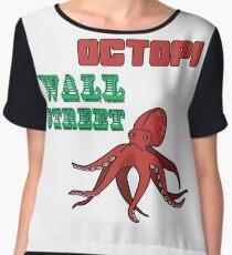 Octopi Wall Street! Chiffon Top
