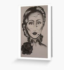 All Dolled Up Greeting Card
