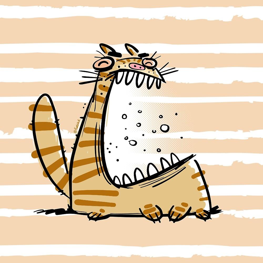 Screamin' Kitty by furbawl