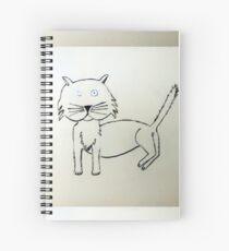 Cat - Chat de Martin Boisvert Cahier à spirale
