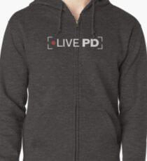Live PD Logo Zipped Hoodie