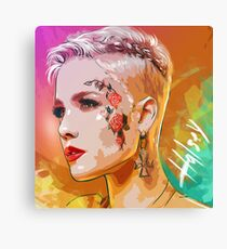 BAD IN LOVE Canvas Print