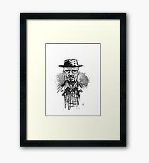 """He who knocks"" Framed Print"