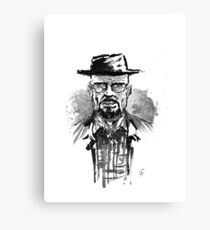 """""""He who knocks"""" Canvas Print"""