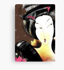 SHANGHAI ORIENTAL MOCHA Canvas Print
