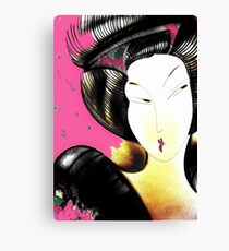 SHANGHAI ORIENTAL FUSHIA Canvas Print
