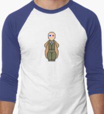 Pixel 10th Doctor Men's Baseball ¾ T-Shirt