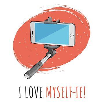 I Love Myself-ie! by ravi0301