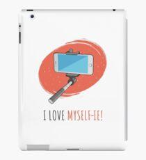 I Love Myself-ie! iPad Case/Skin