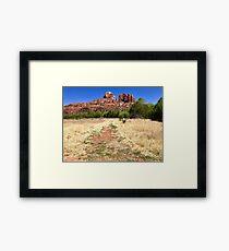 Cathedral Rock in Sedona, Arizona USA Framed Print