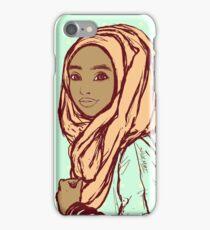 Peach Hijab iPhone Case/Skin