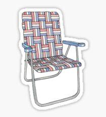 Lawn chair Sticker