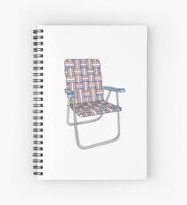 Lawn chair Spiral Notebook