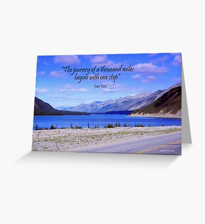 A Journey Greeting Card