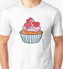 Cupcake Design Unisex T-Shirt