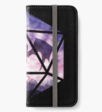 Purple Sky Dragon D20 iPhone Wallet/Case/Skin