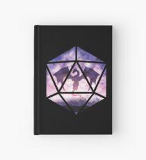 Purple Sky Dragon D20 Hardcover Journal