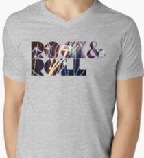 R & R Men's V-Neck T-Shirt