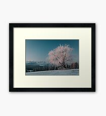First light - Landscape and Nature Photography Framed Print