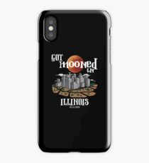 Got Mooned in Illinois IL Lunar Eclipse 2018 iPhone Case/Skin