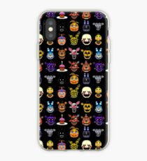 Five Nights at Freddy's - Pixel art - Multiple Characters iPhone Case