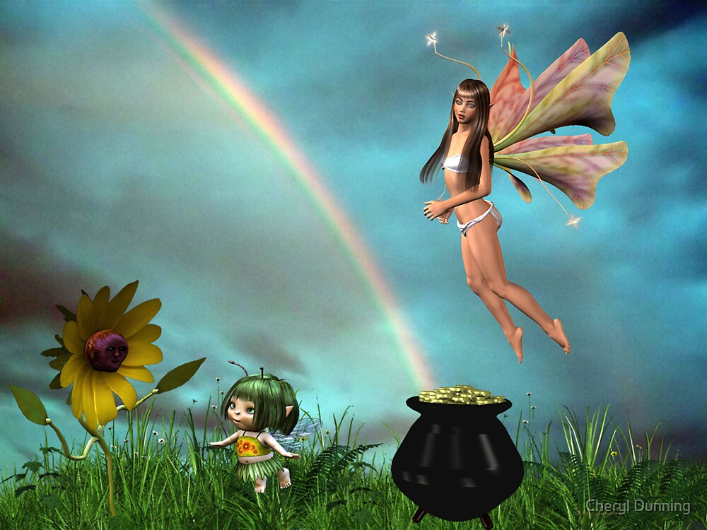 another pot of gold by Cheryl Dunning