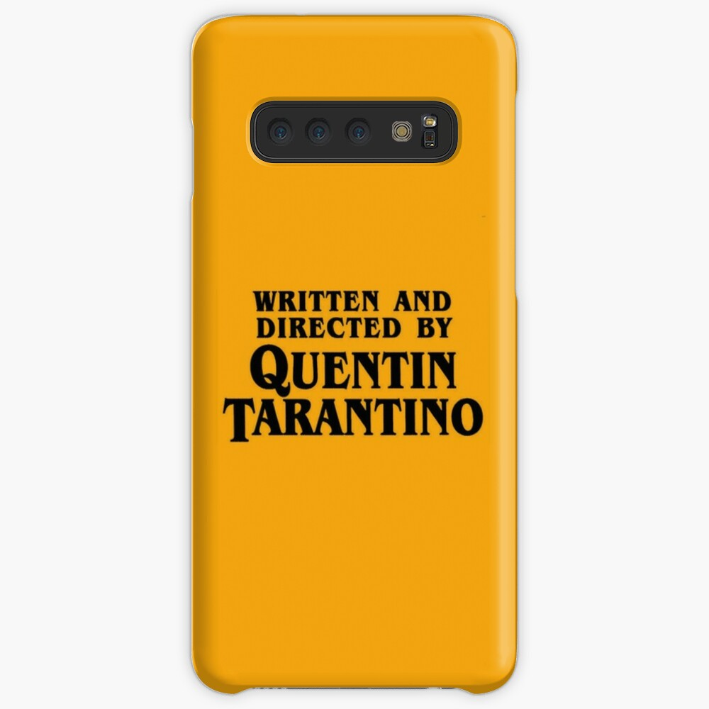 Written and directed by Tarantino Case & Skin for Samsung Galaxy
