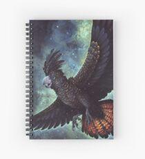 Starry Flight Spiral Notebook