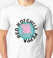 Glühender Chili Peppa Slim Fit T-Shirt