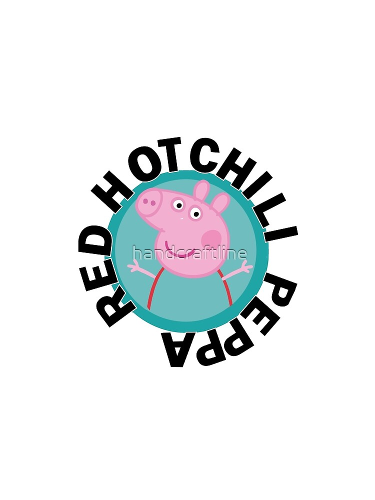 Red hot Chili Peppa by handcraftline