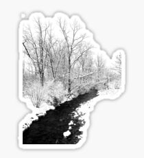 Winter Path Sticker